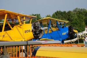 2 velivoli Boeing-Stearman Model 75