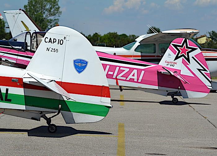 Conclusa a Lugo la gara di acrobazia aerea dell'Aero Club Milano