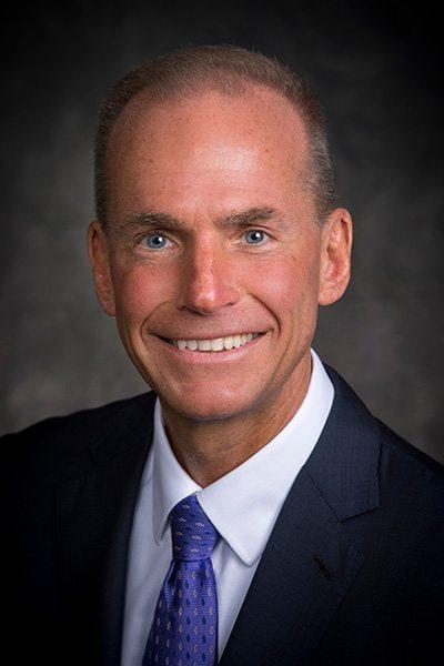 Il nuovo CEO di Boeing Dennis A Muilenburg