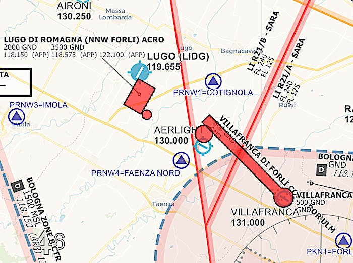 17 ottobre: brillamento bomba a Faenza