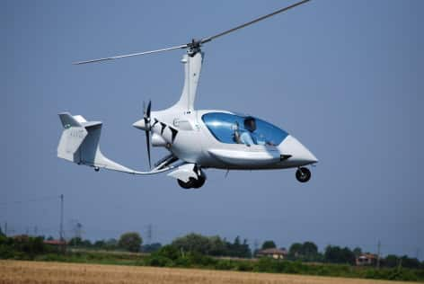 L'autogiro della Ela Aviacion Italia Ela 10 Eclipse