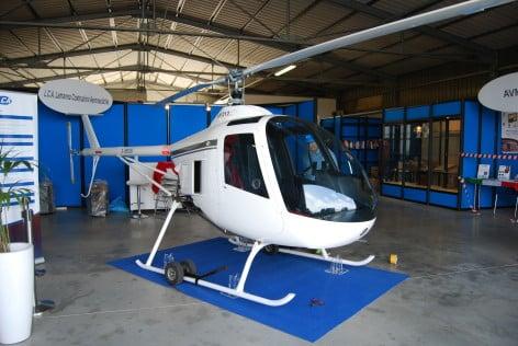 L'elicottero della LCA, LH 212 Delta