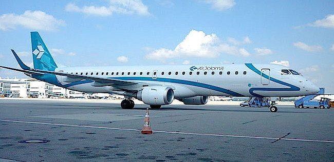 Embraer 195 650px Flughafen Munchen Franz Josef Strauss