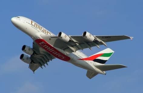 A380 800 di Emirates