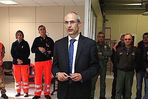 Il Capo Dipartimento della Protezione civile Fabrizio Curcio  (foto archivio Protezione Civile)
