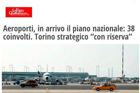 Fatto quotidiano Aeroporti 2015