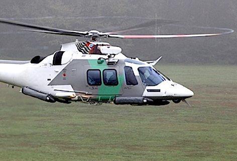 L'elicottero AW109 GrandNew (foto Finmeccanica)