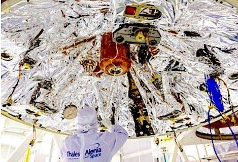 Finmeccanica lancio Exo Mars