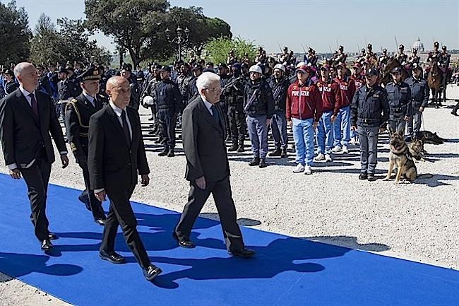 Fondazione Polizia Mattarella minniti garielli