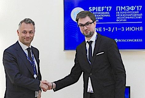 Leonardo Corbucci e Evgenii Pankevich