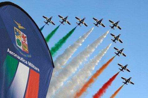 Le Frecce Tricolori (foto Aeronautica Militare)