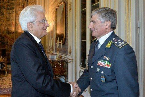 GDF Saverio Capolupo e il pres.Rep.