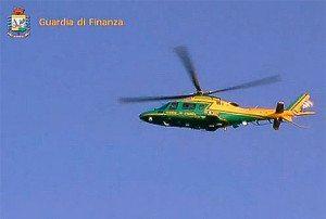 'elicottero MCH 109A (immagine repertorio video GdF)