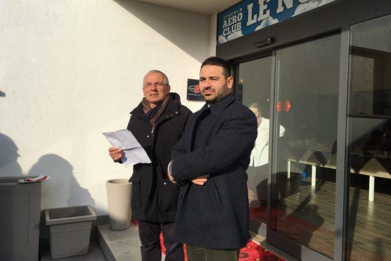 Gli interventi del sindaco di Lugo e del presidente AeCLugo all'inaugurazione del nuovo ristorante all'Aeroporto di Villa San Martino