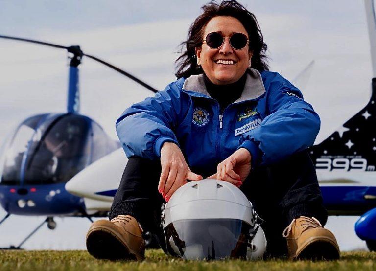 Donatella Ricci, volare per passione e per lavoro