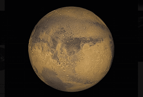 Immagine di Marte (foto NASA)
