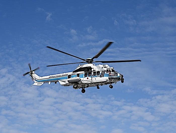 La Japan Coast Guard aggiunge due H225 alla flotta in crescita
