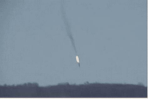 Jet russo abbattuto