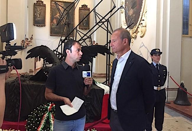 Le telecamere di Rai 3 a Lugo, 7 giugno 2018 (4)