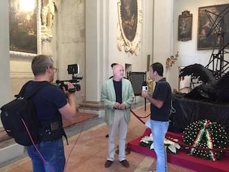 Le telecamere di Rai 3 a Lugo, 7 giugno 2018 (7)