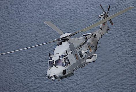Elicottero NH90 (foto Leonardo-Finmeccanica)