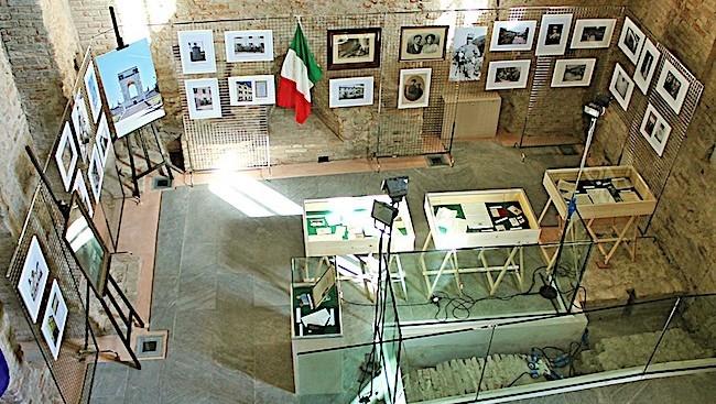 L'esposizione attualmente allestita nella Torre del soccorso