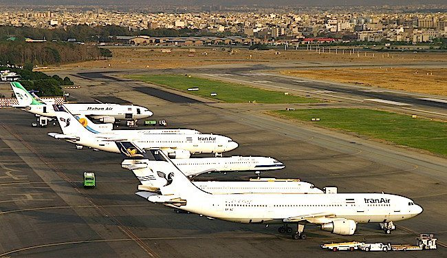L'aeroporto Mehrabad di Teheran (foto Shahram Sharifi per Wikimemdia Commons)