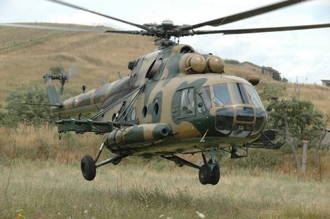 MiL Mi-8 ungherese