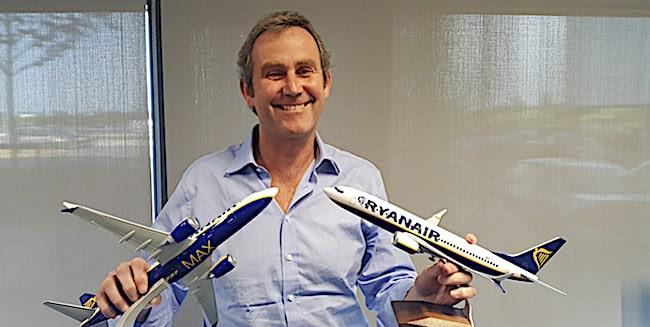 Mick Hickey, direttore operativo di Ryanair