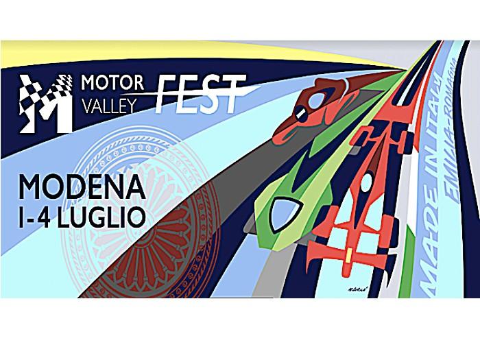 Comincia domani 1° luglio a Modena il grande show del  Motor Valley Fest