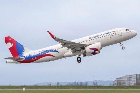 L'A320 della Nepal Airlines (foto Airbus)