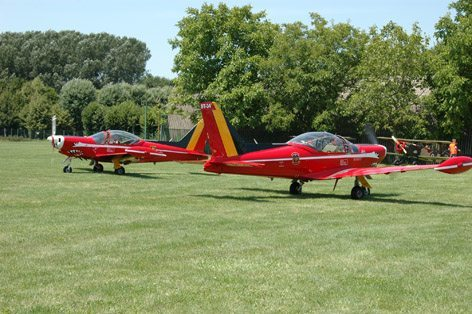 OT SIAMI MACHETTI SF-260 RED DEVILS BELGIAN AIR FORCE