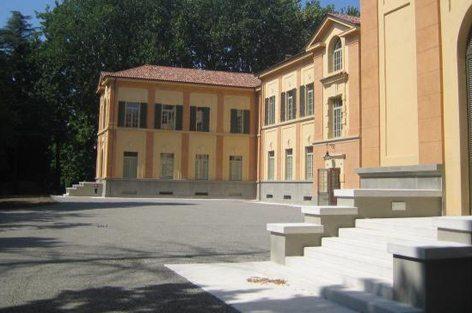 Il padiglione Buccola del Campus San Lazzaro di Reggio Emilia dove avverrà il lancio (foto Reggionline)