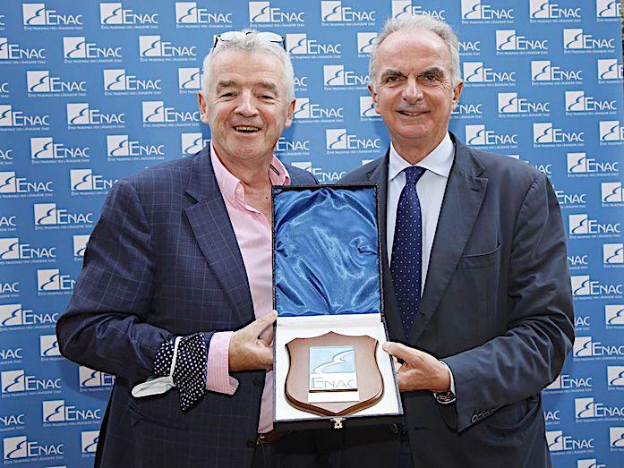 Pierluigi Di Palma e Michael O'Leary: Ryanair in ENAC per i programmi di ripartenza del traffico aereo