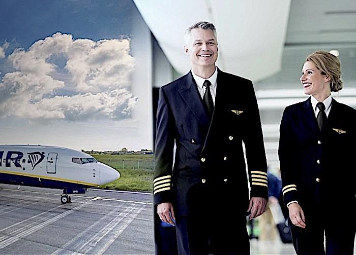 Ryanair annuncia duemila nuovi posti di lavoro per piloti