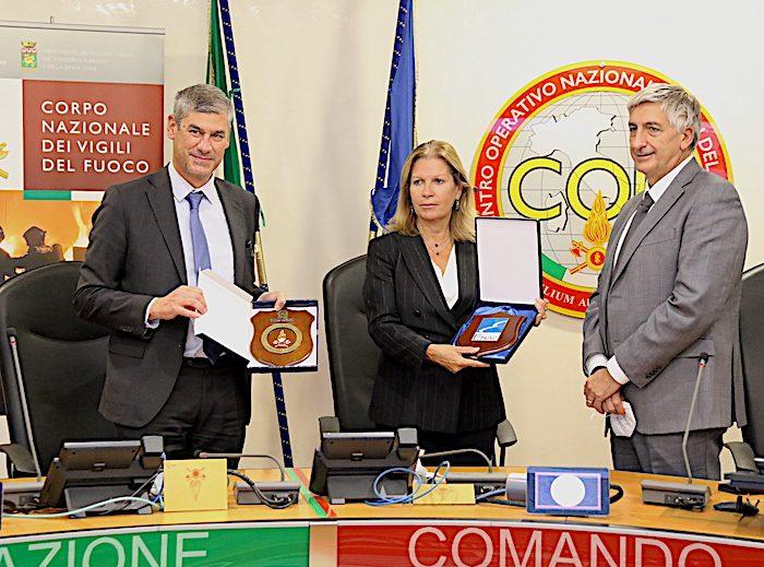 Siglato Accordo tra ENAC e Dipartimento dei VV.F.
