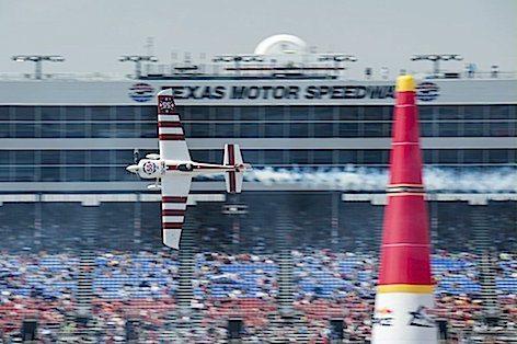 Paul Bonohomme durante la gara di Forth Worth in Texas