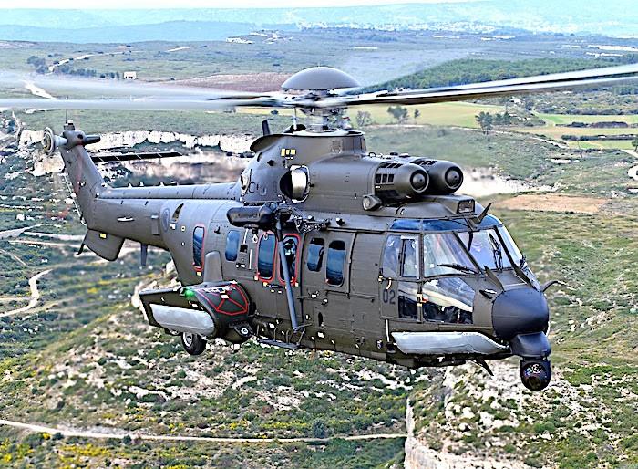 Singapore riceve il suo primo elicottero Airbus H225M