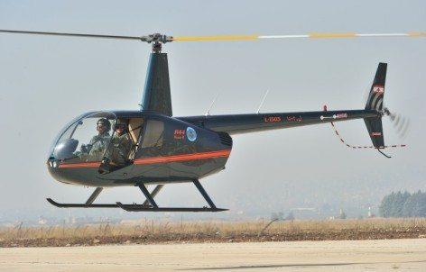 Robinson Raven R44 II, L-1503, Rayak AFB, 27.10.2010