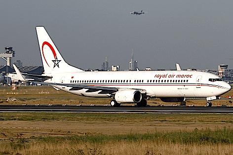 Boeing 737-800 della Royal Air Maroc (foto Konstantin von Wedelstaedt)