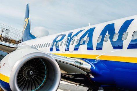 Il 375° 737-800 Next Generation consegnato da Boeing a Ryanair