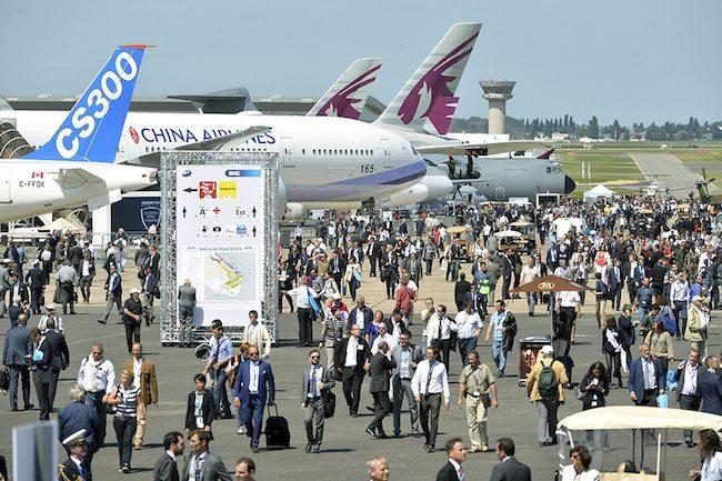 Veduta del Paris Air Show (foto Paris Air Show)