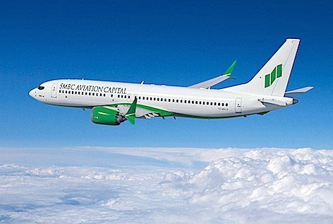 737 MAX della SMBC Aviation Capital  (foto Boeing)