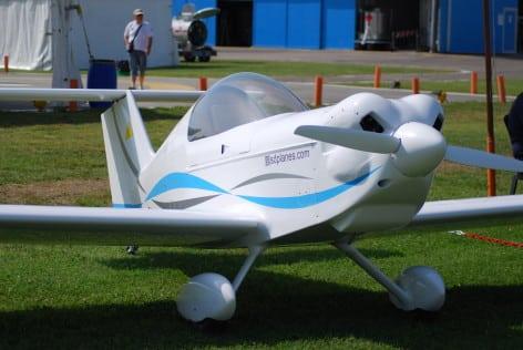 L'ultraleggero monoposto Spacek SD-1 Minisport