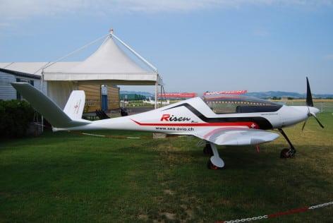 L'ultraleggero Risen della Swiss Excellence Airplanes