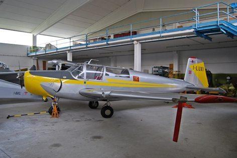 Saab Safir I-LUXI