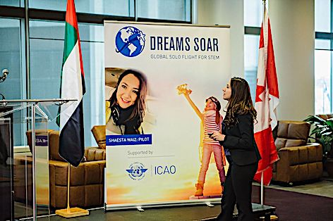 Shaesta Waiz UAE - dreams soar at ICAO - 005