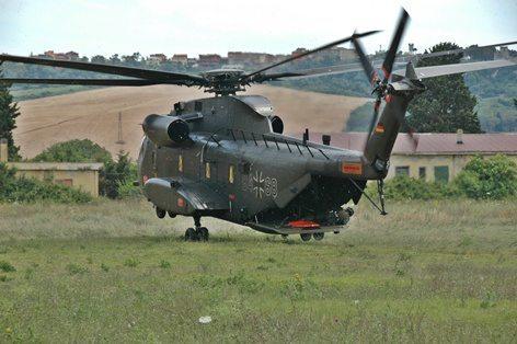 Sikorsky CH-53 della HEER tedesca
