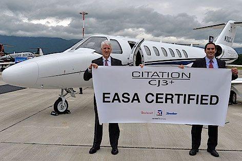 La certificazione EASA del Cessna CJ3 + (foto Textron Cessna Av.)