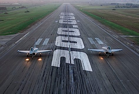 300.000 ore di volo per il Typhoon (Copyright foto Eurofighter GmbH)